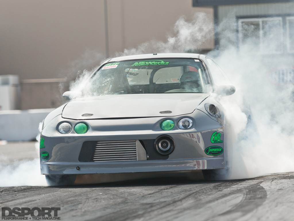 Park's Integra burning out