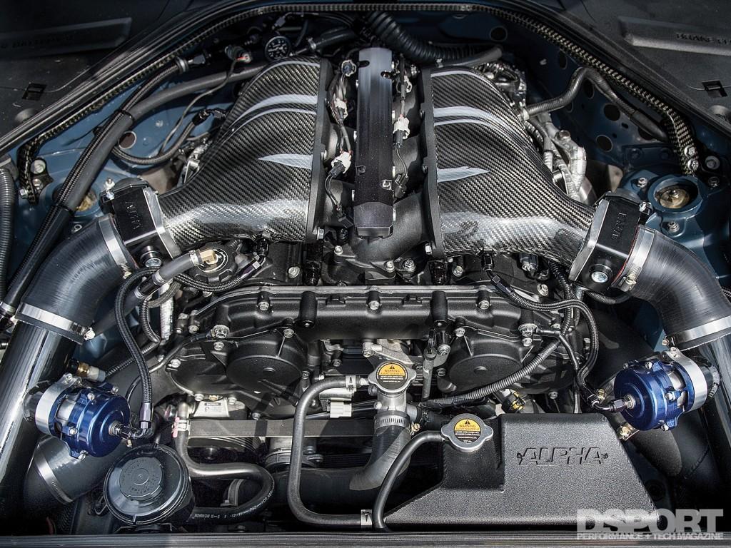 VR38 Engine in Gidi's R35
