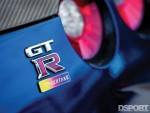 GTR badge on Gidi's R35