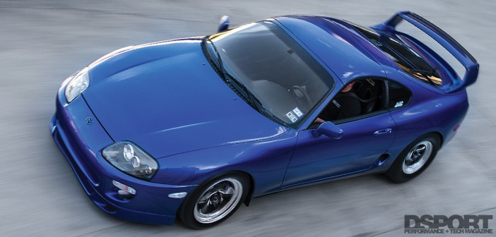 1,307 WHP Street Toyota Supra, Refined | Distilled to Drag