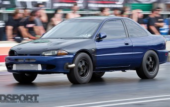 Mitsubishi Mirage Drag Racing