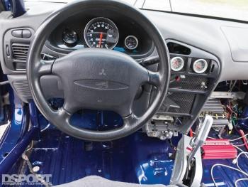 Interior of the Mitsubishi Mirage