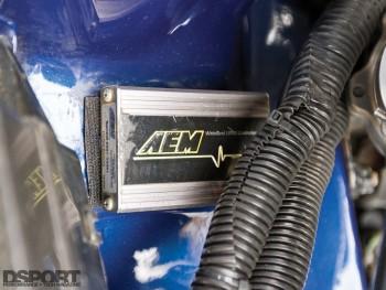 AEM wideband in the Mitsubishi Mirage