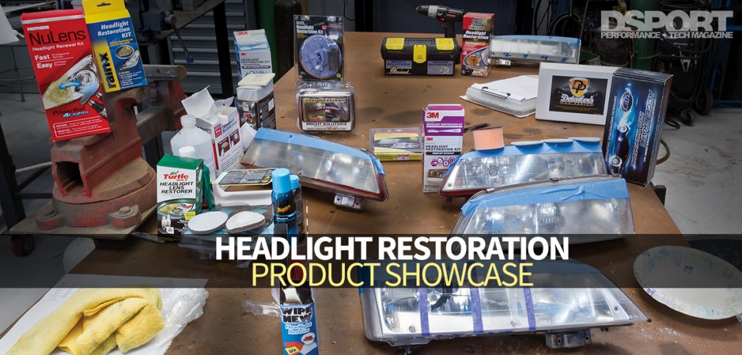 Headlight Restoration Showcase