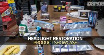 Headlight Restoration Showcase