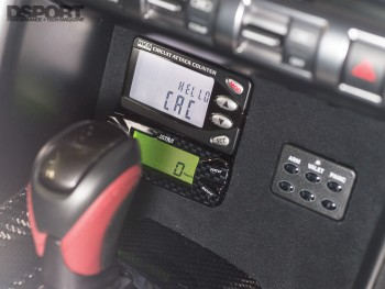 HKS circuit counter inside the Phoenix's Power Nissan R35 GT-R