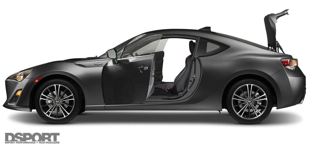 FR-S ready for OEM Audio+ sound systemInstall