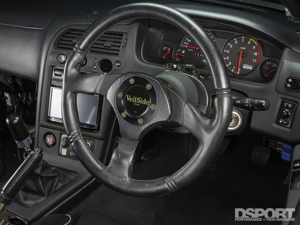 Interior of the D'Garage R33