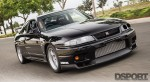 D'Garage R33 driving on the street