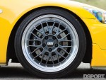 BBS wheels on the 600 HP Turbocharged Honda S2000