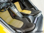 Seats inside the 600 HP Turbocharged Honda S2000