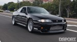 D'Garage R33 on the road