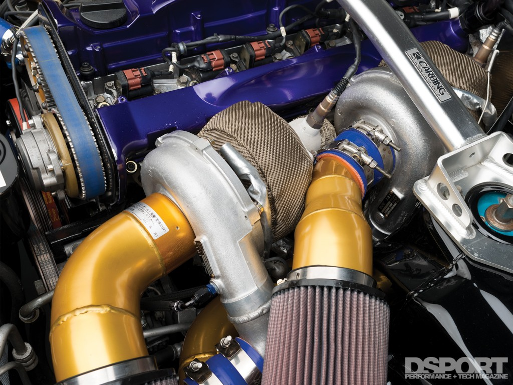 Turbos in the D'Garage R33