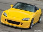 Front of the 600 HP Turbocharged Honda S2000
