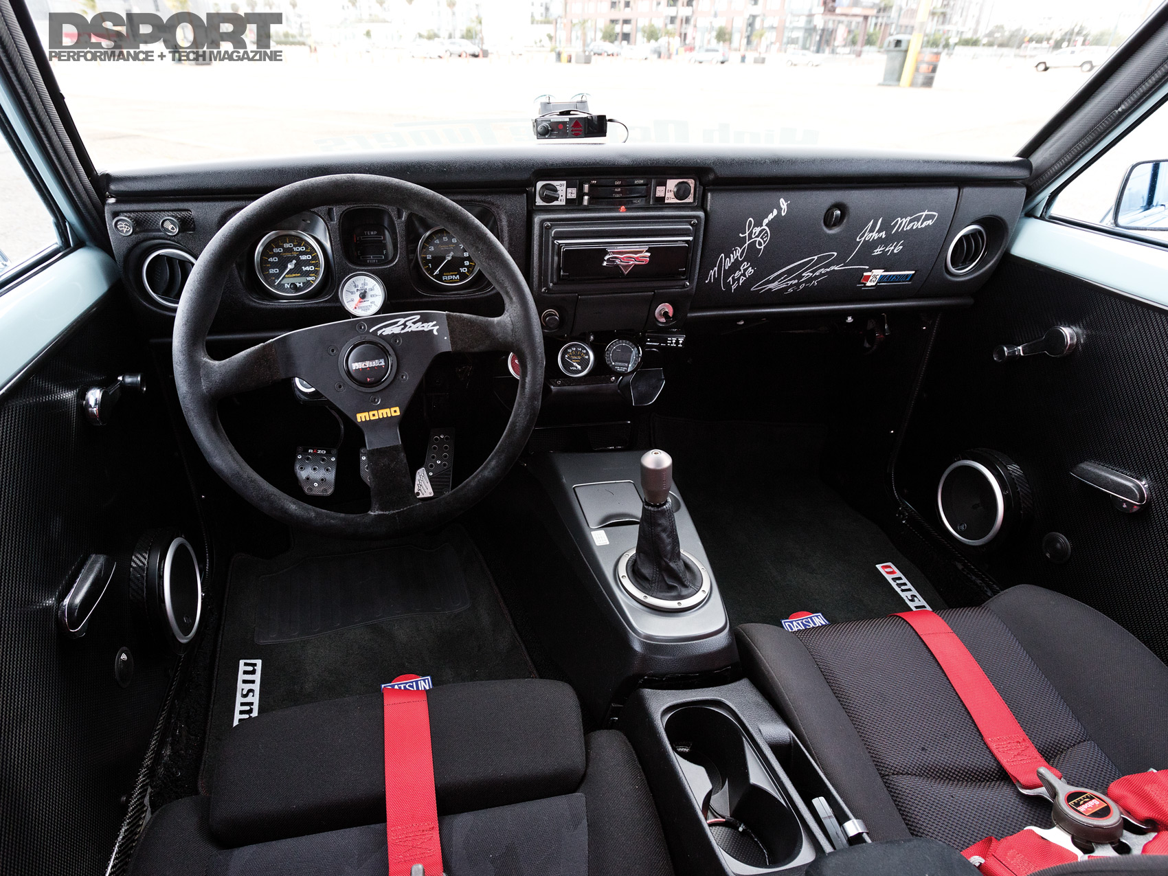 Jose Paredes Datsun 510 Interior