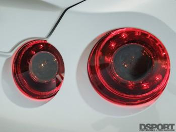 LED lights on the R35 GT-R