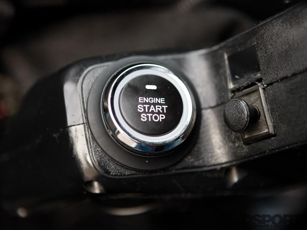 Jose Paredes Engine Start Button