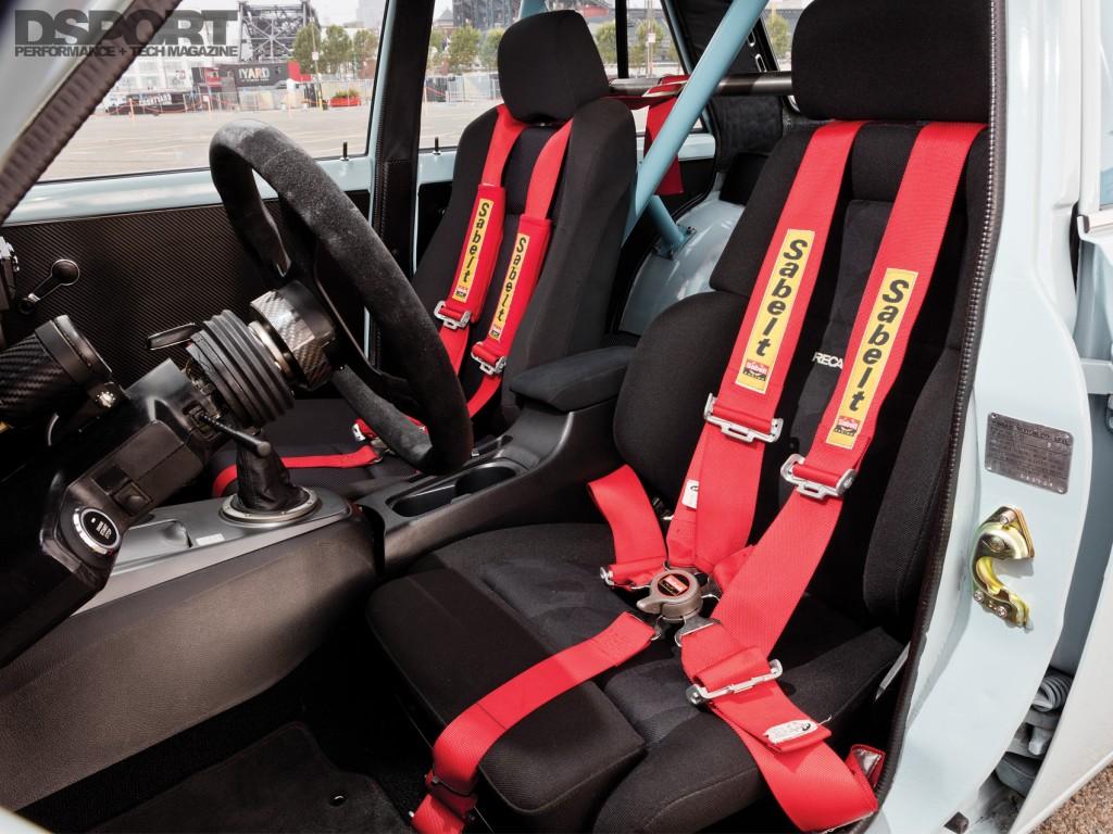 Jose Peredes Datsun 510 Interior