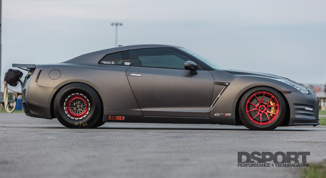 T1 GTR Side Profile