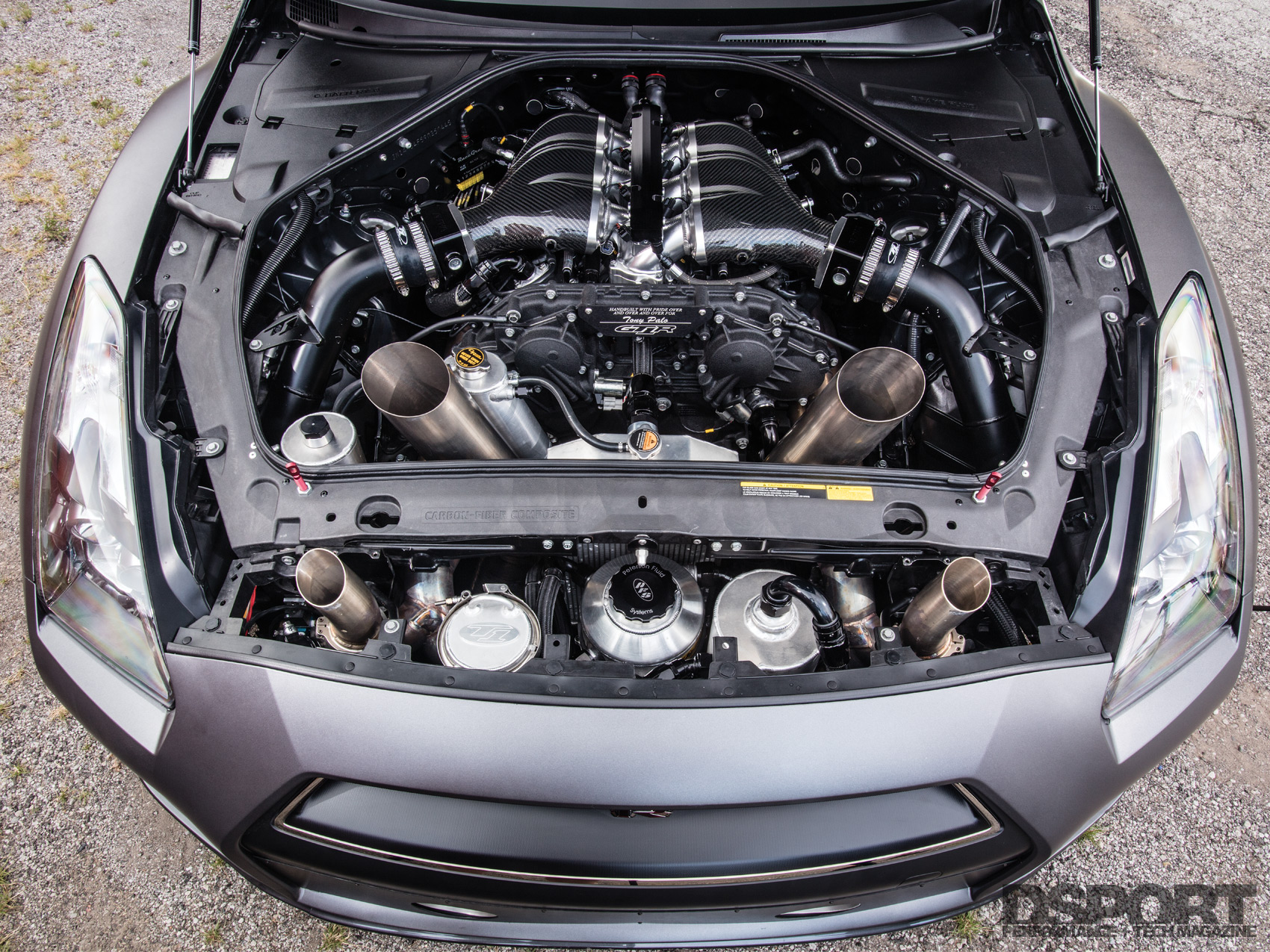 T1 GTR Engine Bay