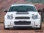 Front of the 585hp STI