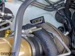 Turbo in the 585hp STI