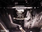 Undercarriage work on the Titan Motorsports Supra