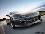 Titan Motorsports Supra driving