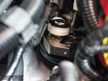 Mountune quick shift installed on the Ford Fiesta