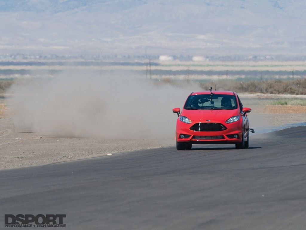 Fiesta taking some turns at buttonwillow