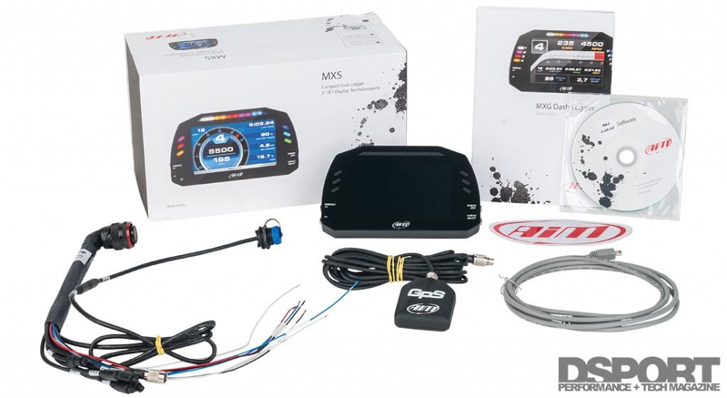Complete AiM Dash Logger kit