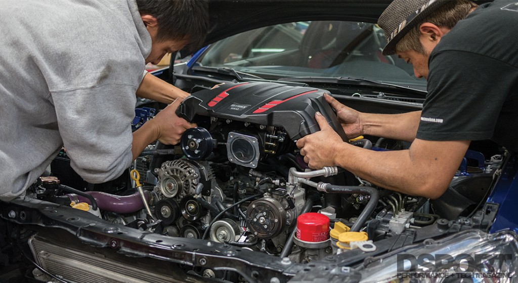 Installing Edelbrock Supercharger