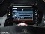 Evasive Motorsports Honda S2000 AiM display