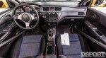 Interior of Paul Wlosinski's EVO VIII