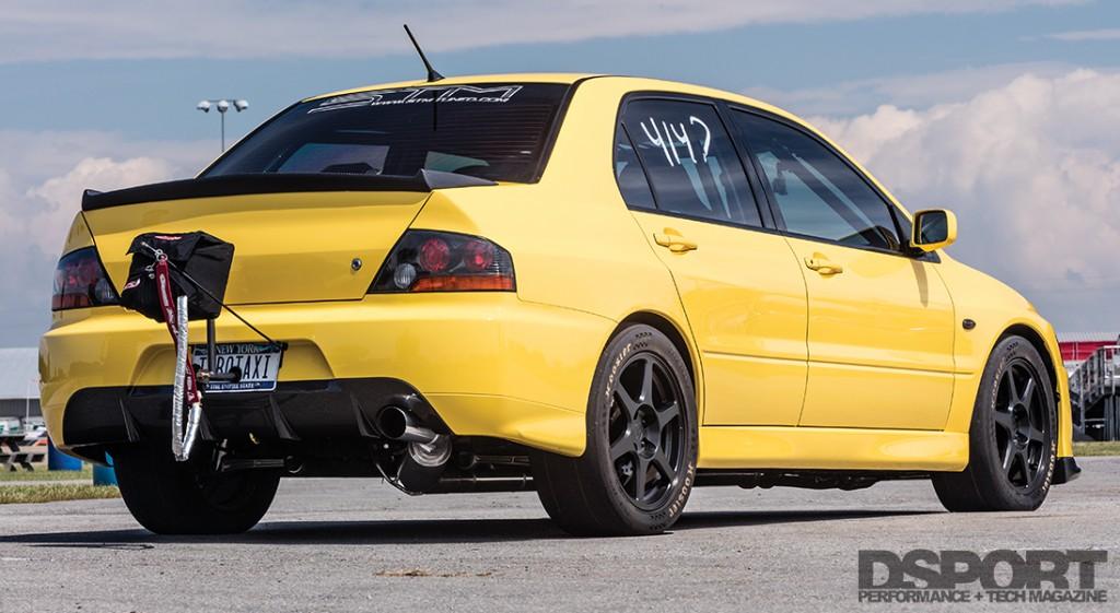 promo code 34cdc 01595 9-second EVO VIII runs at 53psi | Turbo Taxi - DSPORT Magazine