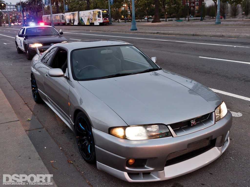 """R33 """"pulled over"""" by the police"""