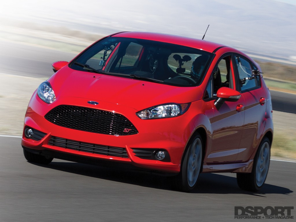 Project Ford Fiesta on track