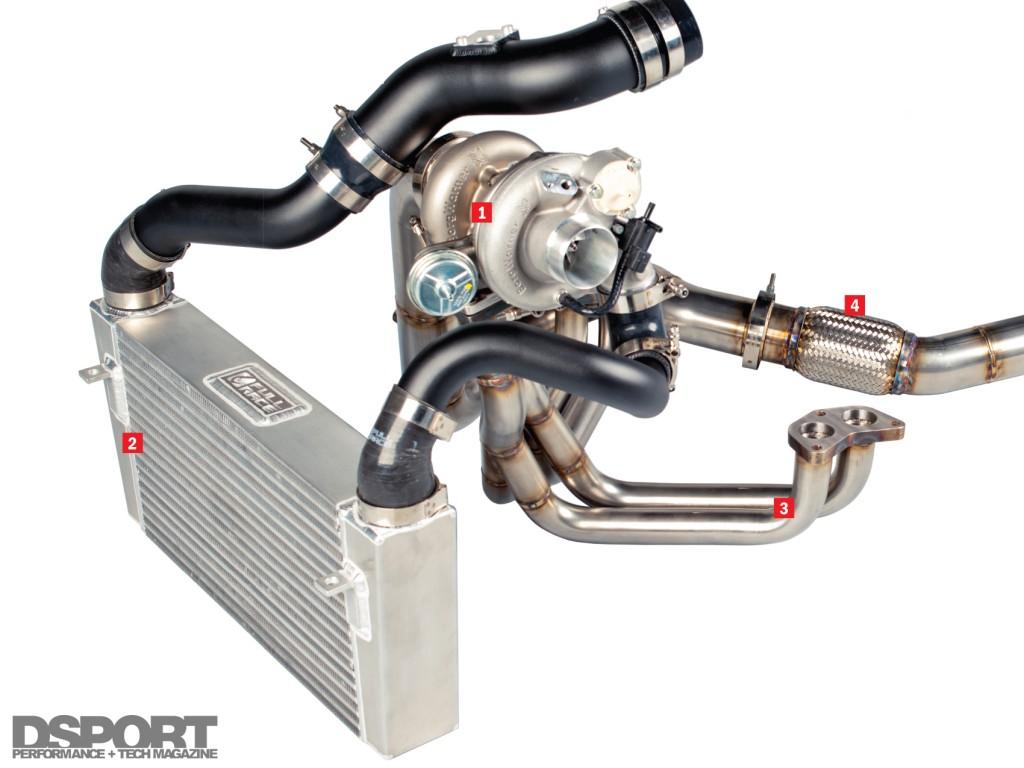 Full Race FA20 Turbo Kit