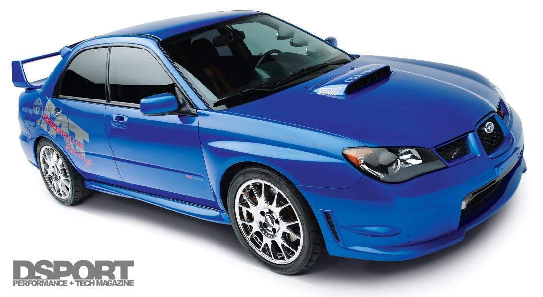 Supercharged and Turbocharged Subaru WRX STi