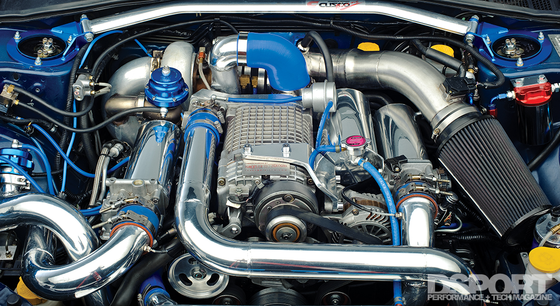 Supercharged and Turbocharged Subaru WRX STi