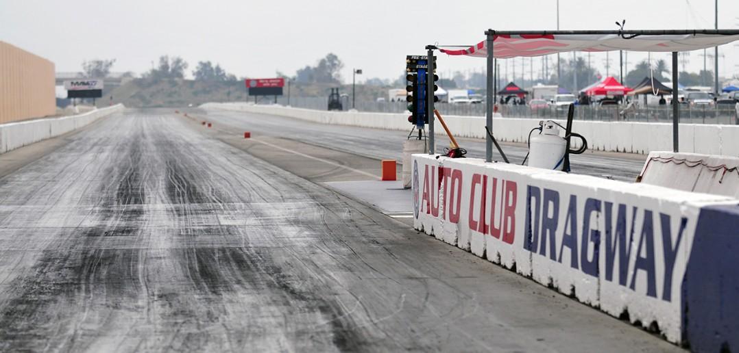 The track at Fontana Dragway