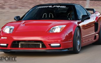 Supercharged NSX