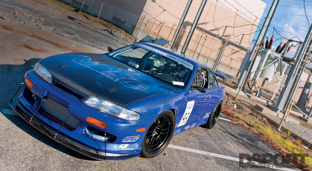Front of the S.P.E.C Clutches Nissan S14