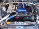 SR20 in the S.P.E.C Clutches Nissan S14