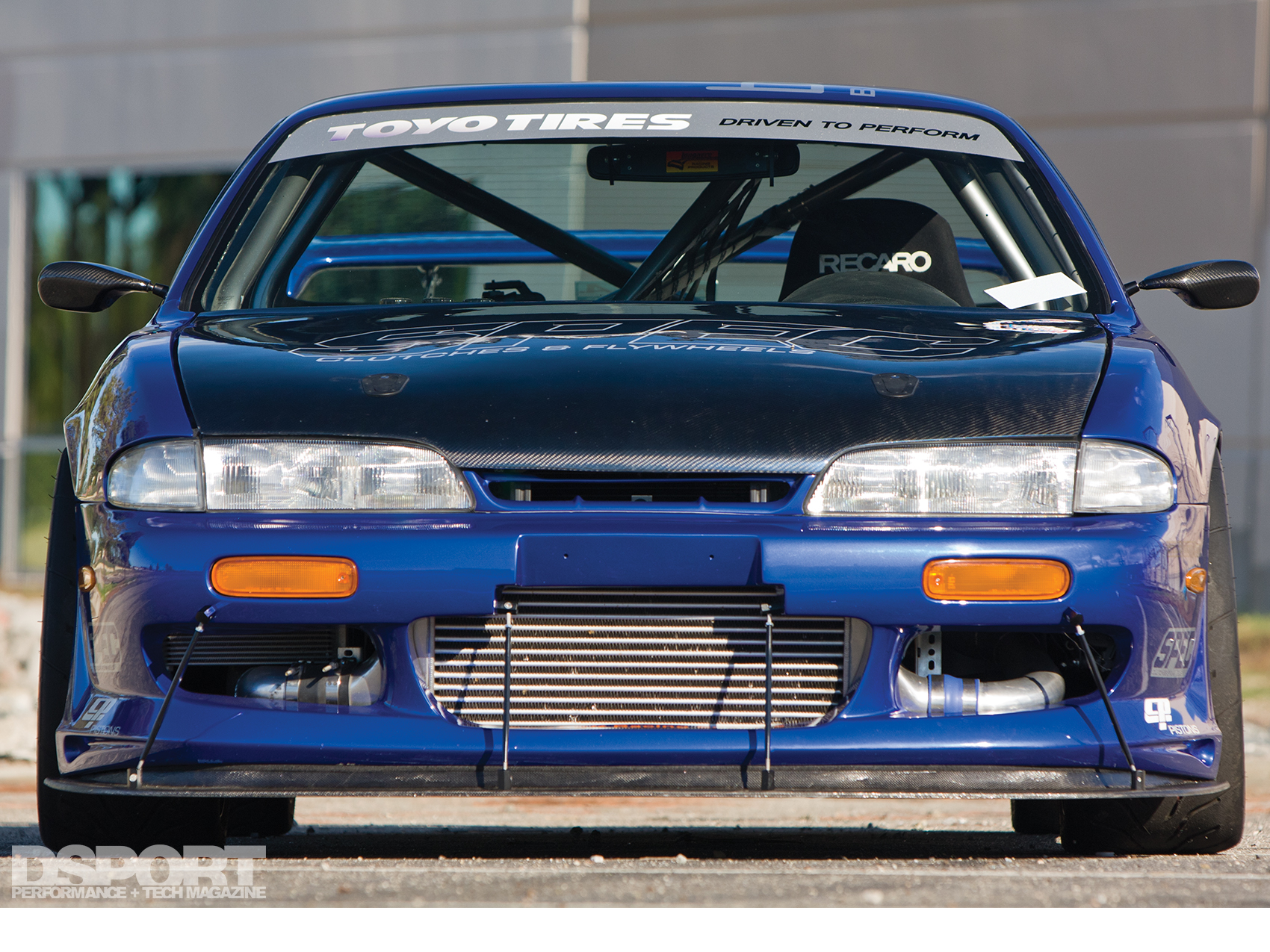 619 WHP Nissan S14 Goes From Strip To Circuit