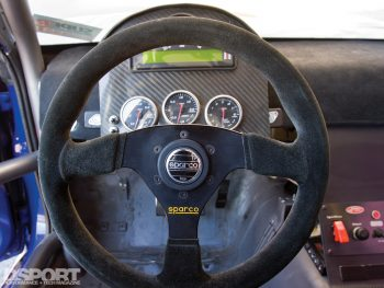Steering Wheel in the S.P.E.C Clutches Nissan S14
