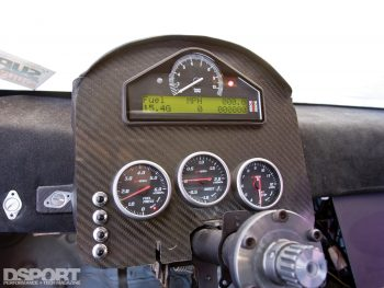 Gauge Cluster in the S.P.E.C Clutches Nissan S14