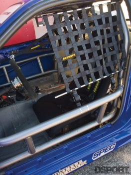 Drivers seat for the S.P.E.C Clutches Nissan S14