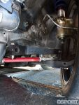 Suspension links and sway bar on the S.P.E.C Clutches Nissan S14