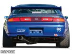 Rear of the S.P.E.C Clutches Nissan S14